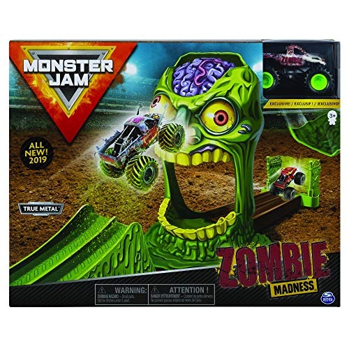 Monster Jam, Playset Per Veicoli In Scala 1:64, 6045029