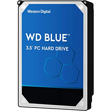 Western Digital HDD 6TB WD Blue PC 3.5インチ 内蔵HDD WD60EZAZ-RT