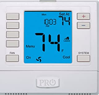 Best pro1 t701 non programmable wall thermostat with backlight Reviews