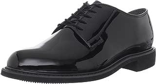Men's High Gloss Uniform Work Shoe