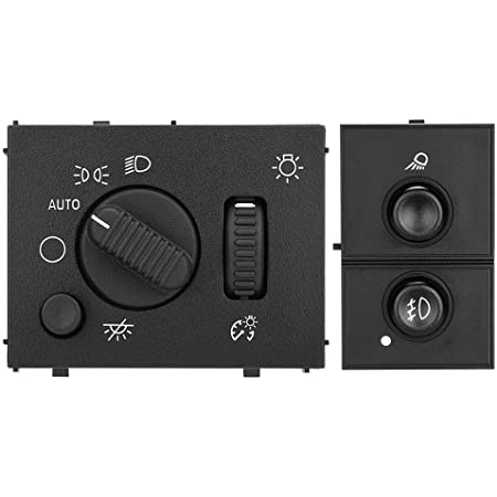 Monrand Headlight Switch Fits for Chevy Silverado GMC Sierra 15176678 Replace Part Number 19381535 15194803 Cadillac Escalade Chevrolet Avalanche 1500 2500