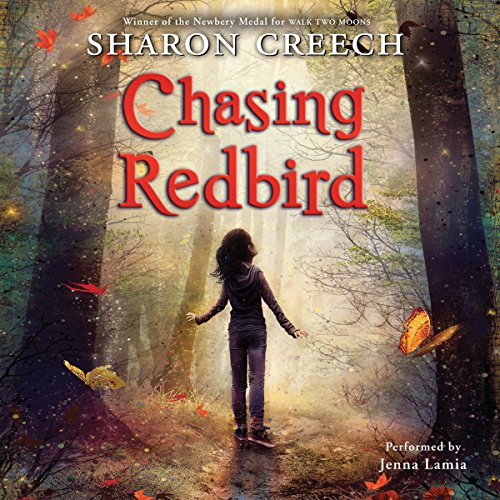 Chasing Redbird                   By:                                                                                                                                 Sharon Creech                               Narrated by:                                                                                                                                 Jenna Lamia                      Length: 5 hrs and 10 mins     119 ratings     Overall 4.5