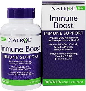 Natrol Immune Boost Capsule - 30 per pack - 2 packs per case.
