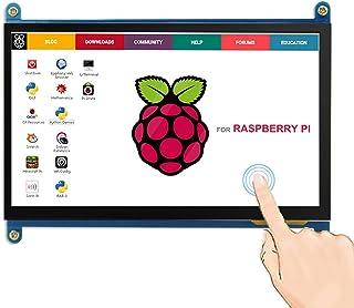 ELECROW 7インチ モバイルモニター Raspberry Pi 用 モバイルディスプレイ LCD ディスプレイ ポータブルモニター 1024*600 HDMI端子 液晶モニター タッチパネルモニター Raspberry Pi 4B 3B+...