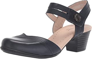 f51a6aa2f7d6 Amazon.com  CLARKS - Heeled Sandals   Sandals  Clothing