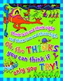 Eureka Dr.Seuss 'Think Left, Think Right' Classroom Poster, 17'' W x 22'' H