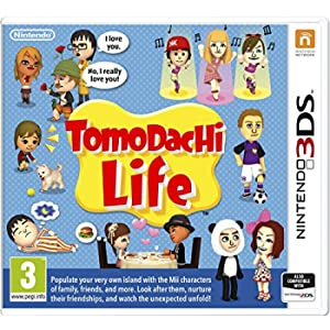 Tomodachi Life 3Ds- Nintendo 3Ds
