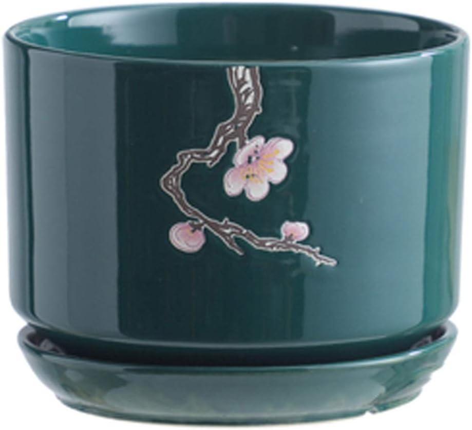 SANYAXIAODONG8 Ranking TOP19 Phoenix Mall Flower Pots Outside Pot Plan Plant Ceramic