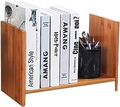 Magazine Racks Bamboo Simple Bookshelf, Desktop Racks, Children's Student Dormitory Desk Small Desk, Multi-function Storag...