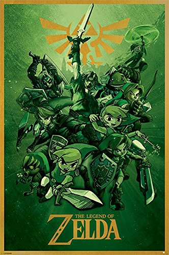 Legend of Zelda, The - Poster - Link + Ü-Poster