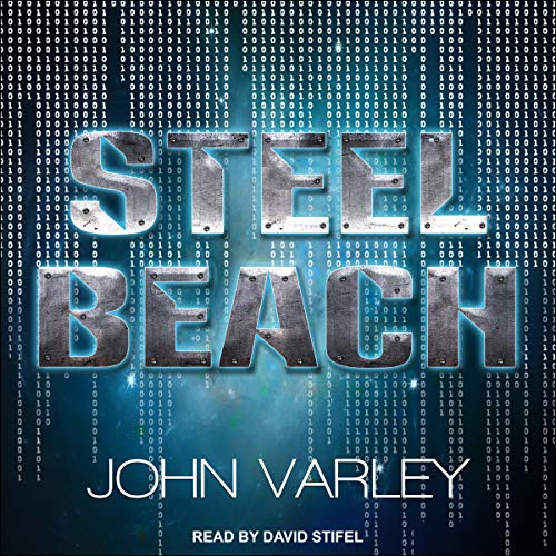 Steel Beach Audiobook By John Varley cover art