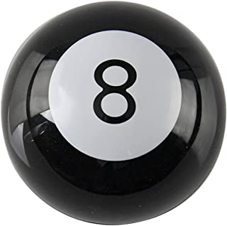 Home-X Mystic 8 Ball, Retro Game and Paperweight, Pool Ball Horoscope Gift, Novelty Toy