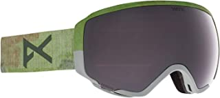 Anon Women's WM1 Goggle with Spare Lens and MFI Face Mask, Camo/Perceive Sunny Onyx