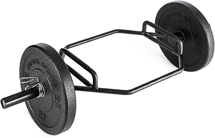 Stacco bar capital sports beastbar hex-bar barra pesi deadlift per allenamento tricipiti (300 kg max) FIT20-Beastbar