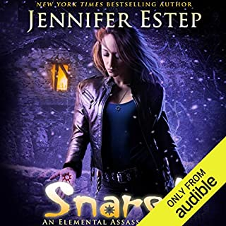 Snared                   Written by:                                                                                                                                 Jennifer Estep                               Narrated by:                                                                                                                                 Lauren Fortgang                      Length: 10 hrs and 30 mins     1 rating     Overall 5.0