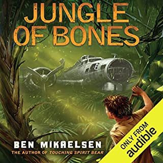Jungle of Bones                   By:                                                                                                                                 Ben Mikaelsen                               Narrated by:                                                                                                                                 LJ Ganser                      Length: 5 hrs and 9 mins     47 ratings     Overall 4.6
