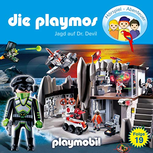 Jagd auf Dr. Devil. Das Original Playmobil Hörspiel Titelbild