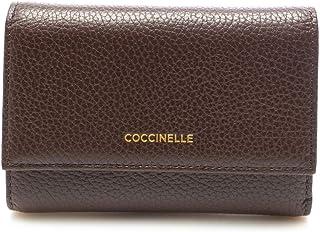 PORTAFOGLIO DONNA printed logo portafoglio grained leather Cacao 4NA116680W92