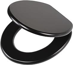 Tiger Leatherlook WC-bril, MDF, Zwart
