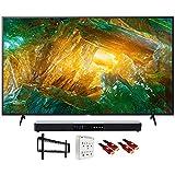 Sony XBR43X800H 43' X800H 4K Ultra HD LED TV (2020) with Deco Gear Soundbar Bundle