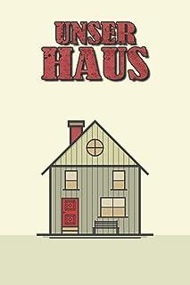 Unser Haus: Punktiertes Notizbuch Mit 120 Seiten Zum Festhalten Für Alle Notizen, Termine, Skizzen Bezüglich Deinem Haus -...