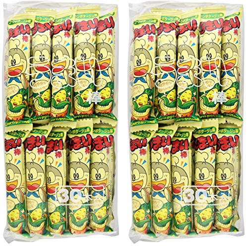 Japan Snack Umaibou Corn Potage Taste Good Stick 30 Ber