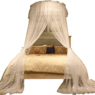 ABYYLH Mosquito Net for Bed Naturals Net for Bed Canopy, Tent for Full, Double, Super King Size, Netting with 3 Openings