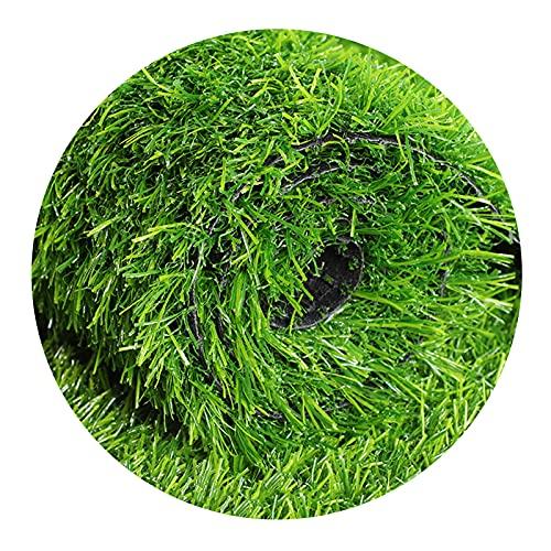 YNFNGXU Alfombra De Césped De Hierba Artificial Verde, Alfombra De Césped De La Alfombra De La Alfombra De La Céspula Falsa, De La Altura De La Pila De 0.78 Pulgadas De C(Size:20mm grass height-2mx6m)