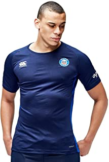 Canterbury 2016-2017 Bath Rugby Superlight Poly Dry Training Tee (Navy)
