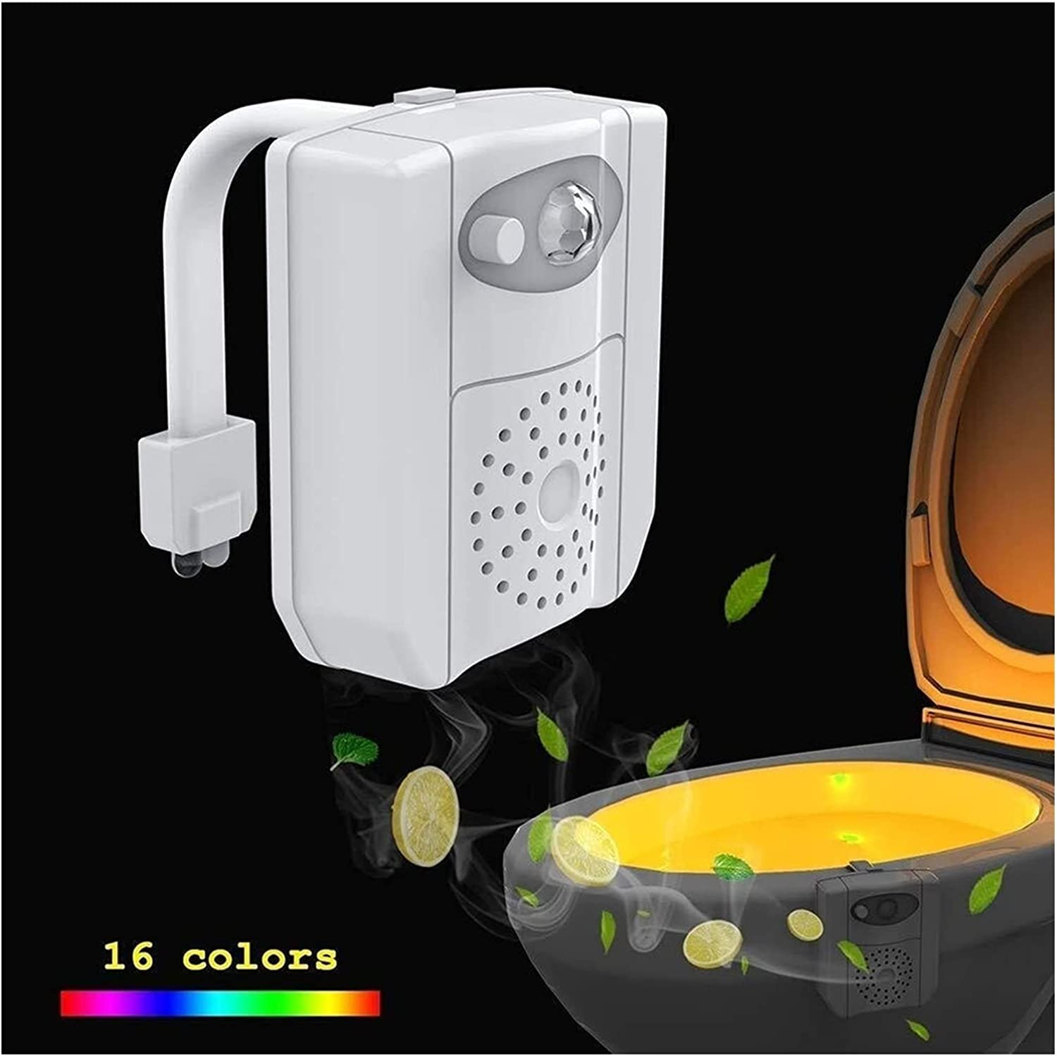 BXBX Led Toilet Night Cheap sale Light,16-Colors Sensor Motion with Directly managed store Creat
