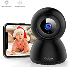 Victure 1080P FHD WiFi Camera with Motion Tracking Sound Detection Wireless 2.4 G WiFi..