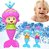 Islandse Bath Tub Fun Swimming Baby Bath Toy Mermaid Wind Up Floating Water Toy for Kids Gifts Swimming Pool Bathing Time Fun