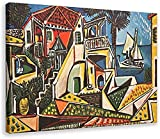 SXXRZA Arte de Pared 70x90cm Sin Marco Pablo Picasso-Cartel de Paisaje mediterráneo...