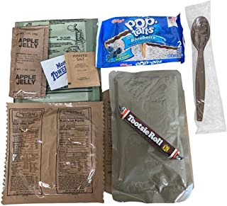 2017 Pack Date - Sopakco - Low Sodium MRE (Meals-Ready-To-East) - Single Meals (Chili Mac)