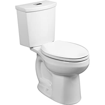 Almond KOHLER K-76301-RA-47 Highline Concealed Trapway Comfort Height Two-Piece Elongated 1.28 GPF Toilet with Class Five Flush Technology and Right-Hand Trip Lever