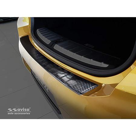 Seuil Pour BMW x2 f39 ab2018 Film de Protection Carbone Noir 3d 160µm