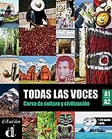 Todas las voces (A1/A2). Lehrbuch + Audio-CD + DVD: Curso de cultura y civilización.