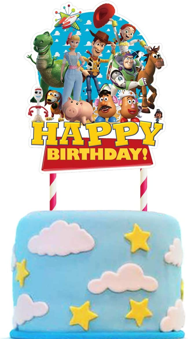 Toy Cake Topper Popular Free Shipping Cheap Bargain Gift brand Birthday Party Children Decorations for Supplies