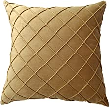 Liveinu Geometric Decorative Square Throw Pillow Covers Soft Particles Velvet Solid Cushion Cases Cushion Covers for Couch...