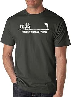SignatureTshirts Men's I Thought They Said Rum T-Shirt