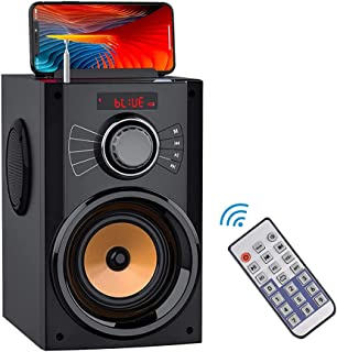 $55 » Portable Bluetooth Speaker with Subwoofer Wireless Speakers Outdoor/Indoor Big Speaker Support Remote Control FM Radio TF ...