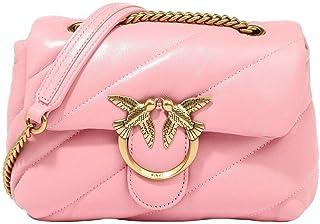 Pinko Bolso Love Puff 5 mini bandolera maxi acolchado 1P22B1 Y6Y3 P66 rosa
