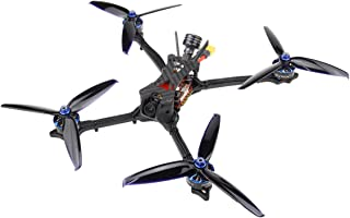 HGLRC Wind6 6S BNF FPV Racing Drone F7 FC 2408 1700KV Brushless Motor Blheli32 65A 4in1 ESC Forward VTX Flight Stack Aurora V2 Camera Racing Drone Race Quad Quadcopter Frsky XM+ Receiver