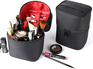Longjet Toiletry Bags Travel Makeup Bag Train Case Makeup Organizer