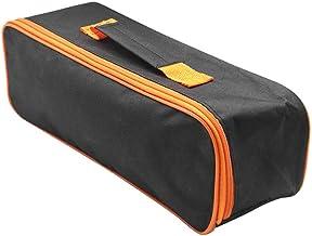Dragen met handvat Slijtvaste draagbare tas Stofzuiger Gereedschapstas Organisator Praktische opbergkoffer Zwarte ritsslui...