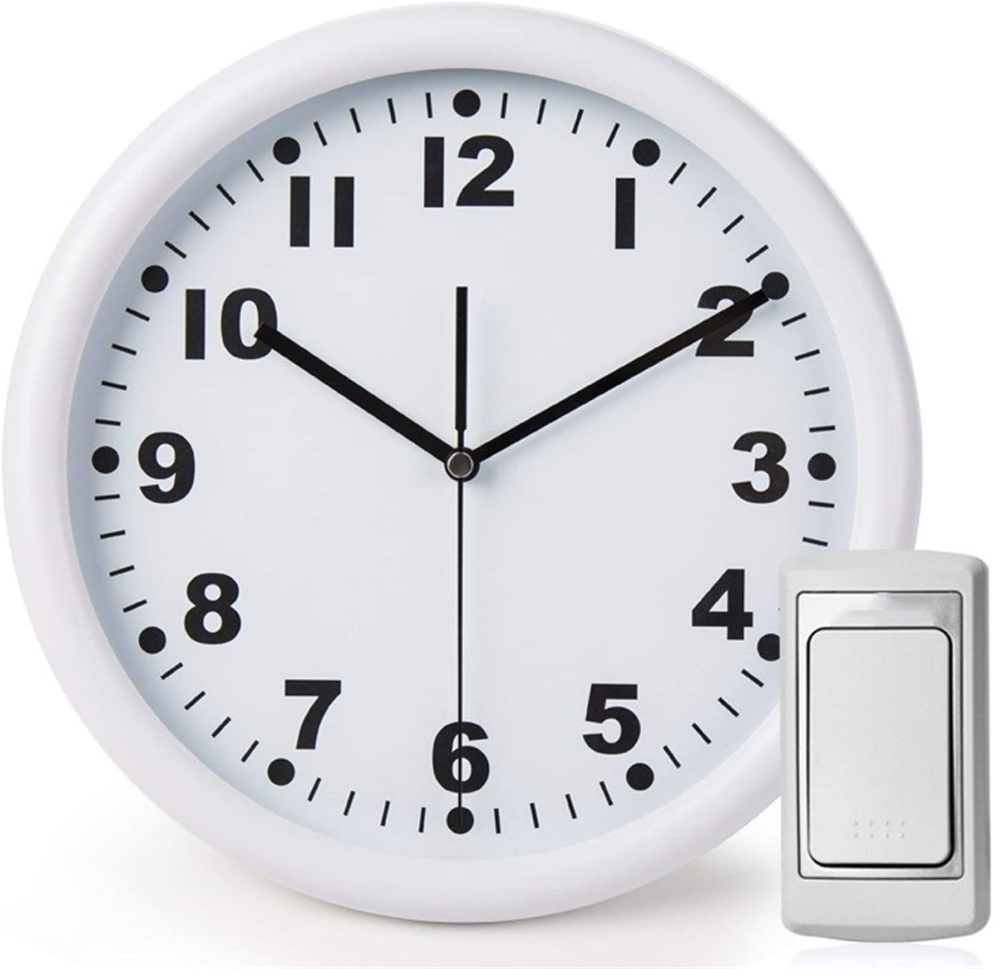 Wall Clock Cheap mail order sales Wireless Doorbell Ultra Bell Mute depot Distance Door Long