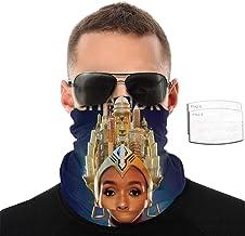Layne Staley Mask Unisex Bandanas Neck Gaiter Face Shield Scarf with Filter Mouth Masks