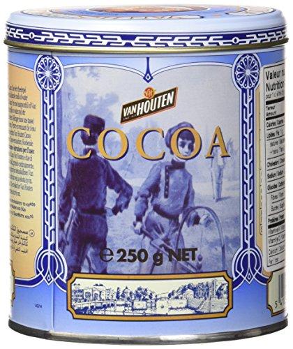 Van Houten Cacao Poeder in Klein Blikje (Cacao Powder in Small Tin) by Van Houten