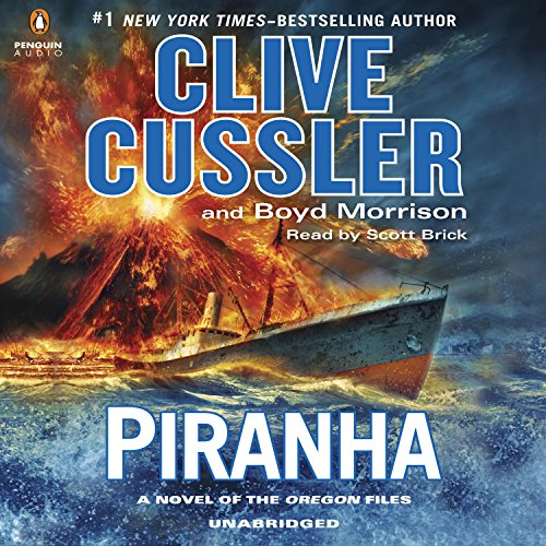 Piranha audiobook cover art