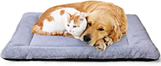 PETSGO Super Soft Crate Mats(1 in High Dog & Cat Beds for Crates-(Not Suit Chewer) Machine Wash & Dryer Friendly-Anti-Slip...